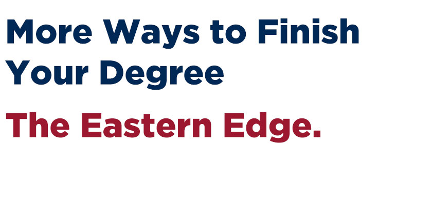 Finish your degree