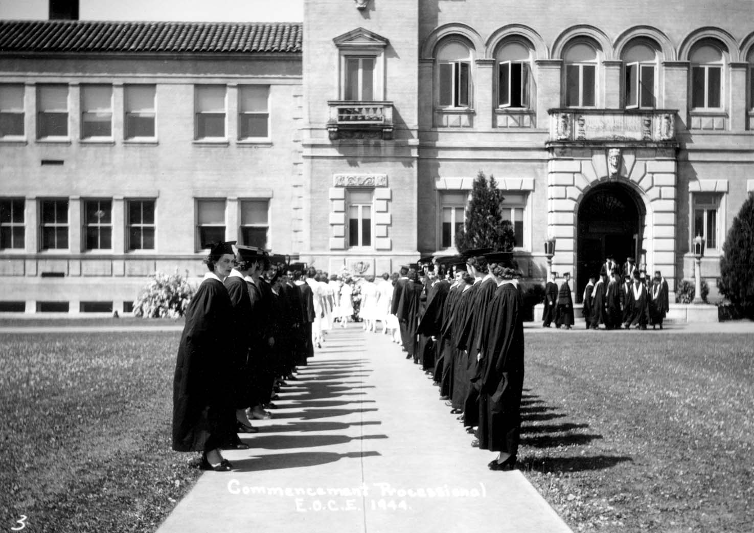 Eastern Oregon Univeristy Inlow Hall 1944