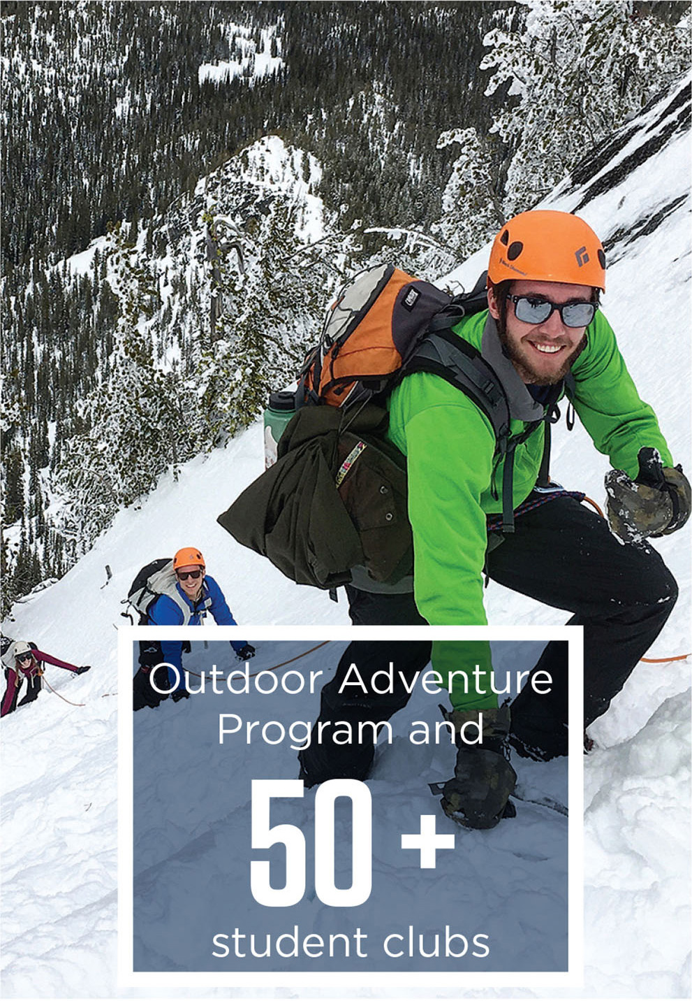 EOU has 50+ Student Clubs, including the Outdoor Program