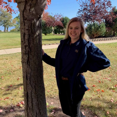 SARAH ALEXANDER Year in school: Freshman Major: Pre-Nursing Hometown: Boise, Idaho Favorite activity at EOU: Anything with the Outdoor Adventure Program or sledding down the 8th street hill!