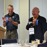 Mike Daugherty & Jim Lundy at the Alumni Reunion Breakfast