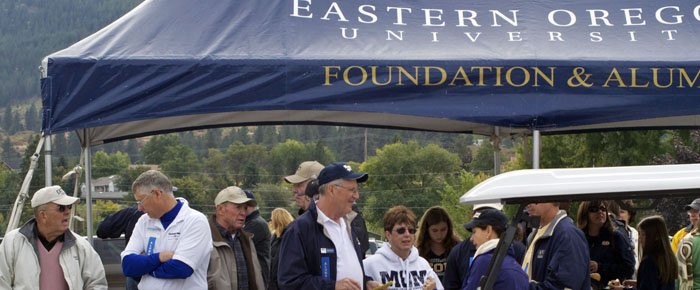 Alumni & Friends at the Mountaineer Tailgate Zone