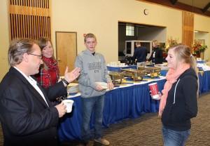 Alumni Association breakfast