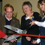 Gilbert Center ribbon cutting