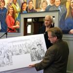 Mural unveiling