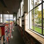 Pierce Library ribbon cutting