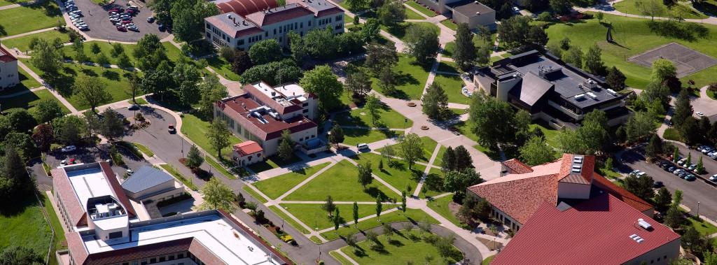 View of EOU Campus in La Grande
