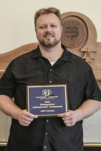 EOU's 2017-18 Administrative Professional Of The Year: Jeff Carman
