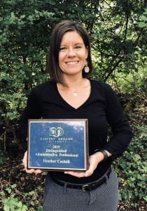 2018-19 Distinguished Administrative Professional Heather Cashell