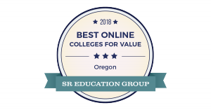 Best Online Colleges For Value Badge