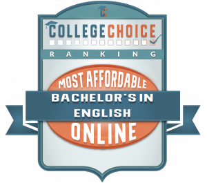 Most Affordable Online Bachelor's in English