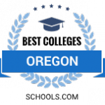 Best Colleges Oregon Badge
