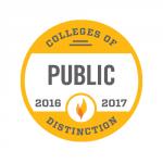 2016-17 Colleges of Distinction-Public Badge