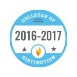 2016-17 Colleges of Distinction-Yearly Badge