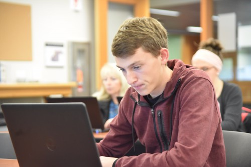 "Harrison Smith | Freshman | Biology | Scio, Ore. |  ""I applied to become an ASTEO scholar because it seemed like the next logical step for me. I saw it as a challenge and since I am a very competitive person I wanted to conquer this challenge…. I am looking forward to meeting new people and extending my education to a higher level. I am also very excited to explore a whole new area."""