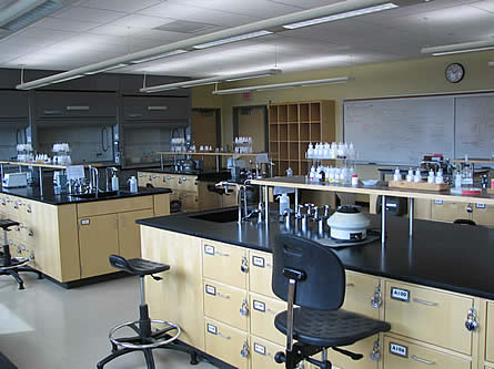 EOU Chemistry Lab
