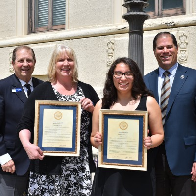 Outgoing EOU trustees honored