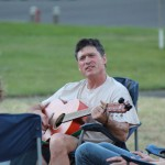 EOU Cottonwood Crossing Summer Institute Professor with Guitar