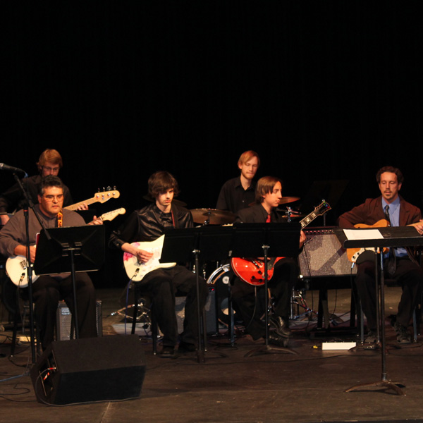 Music Performance Guitar Ensemble at EOU