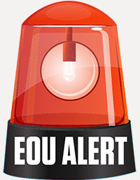 EOU ALERT graphic