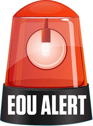 EOU Alert Logo