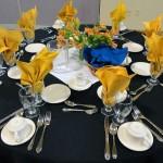 Gilbert Center Table Setting