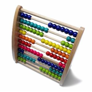 Counting system - colored balls