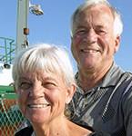 Donors Timothy and Linda Gleeson