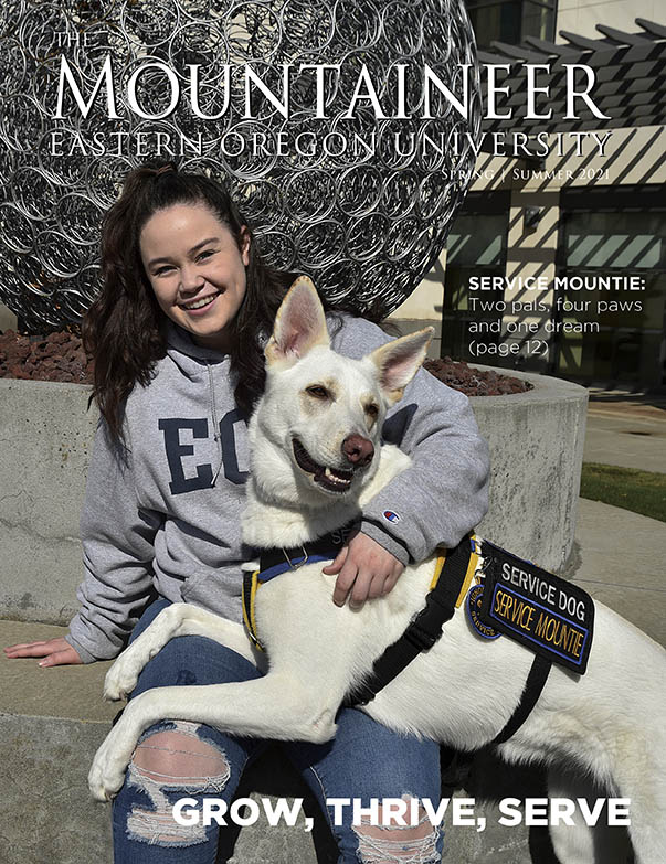 Mountaineer Magazine Spring Summer 2021 Cover