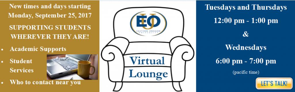Virtual Lounge Heading