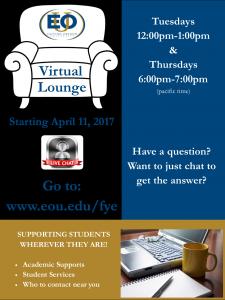 Virtual lounge