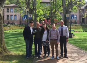 History students at the 2016 Phi Alpha Theta Conference on the campus of Western Washington University