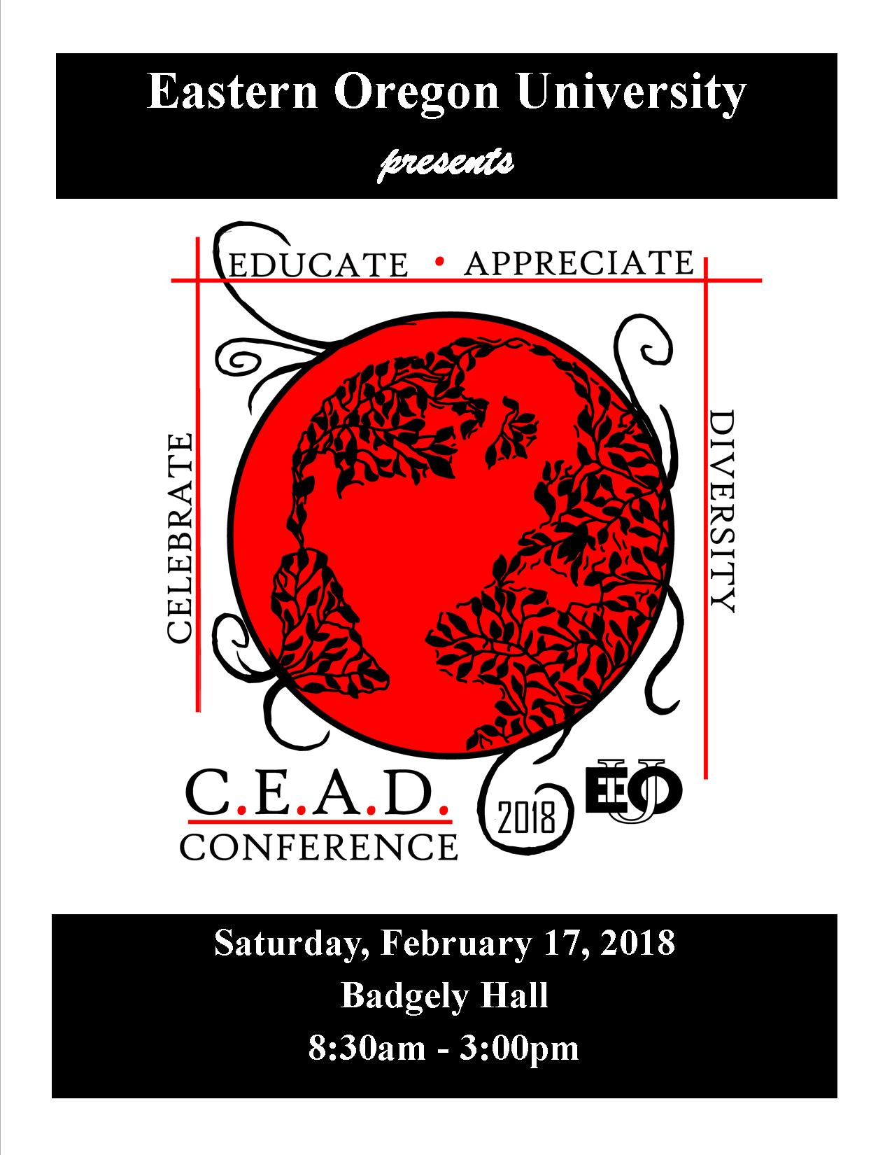 CEAD 2018 Program 1st page