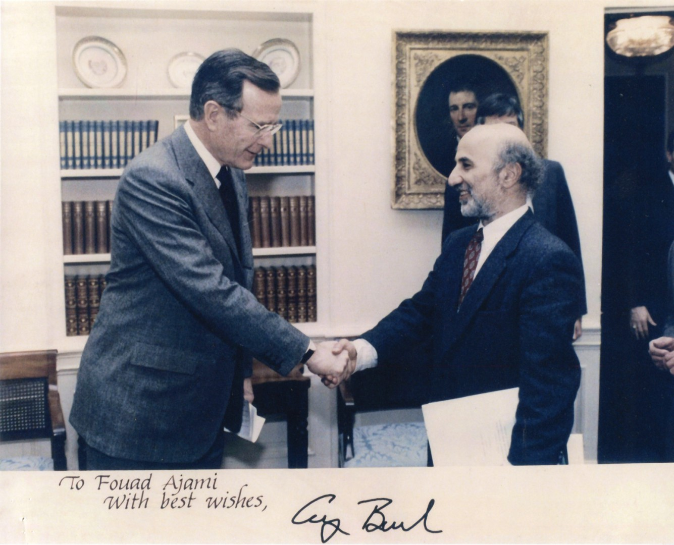 Fouad with President Bush