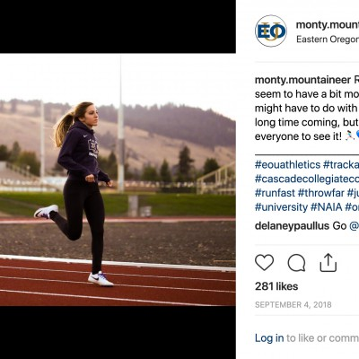 EOU's most-liked Instagram photo to date is the first Chavez ever posted.