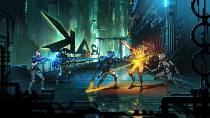 Neon District fight