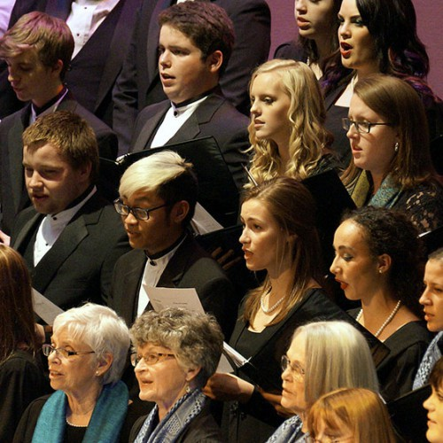 choirs performing