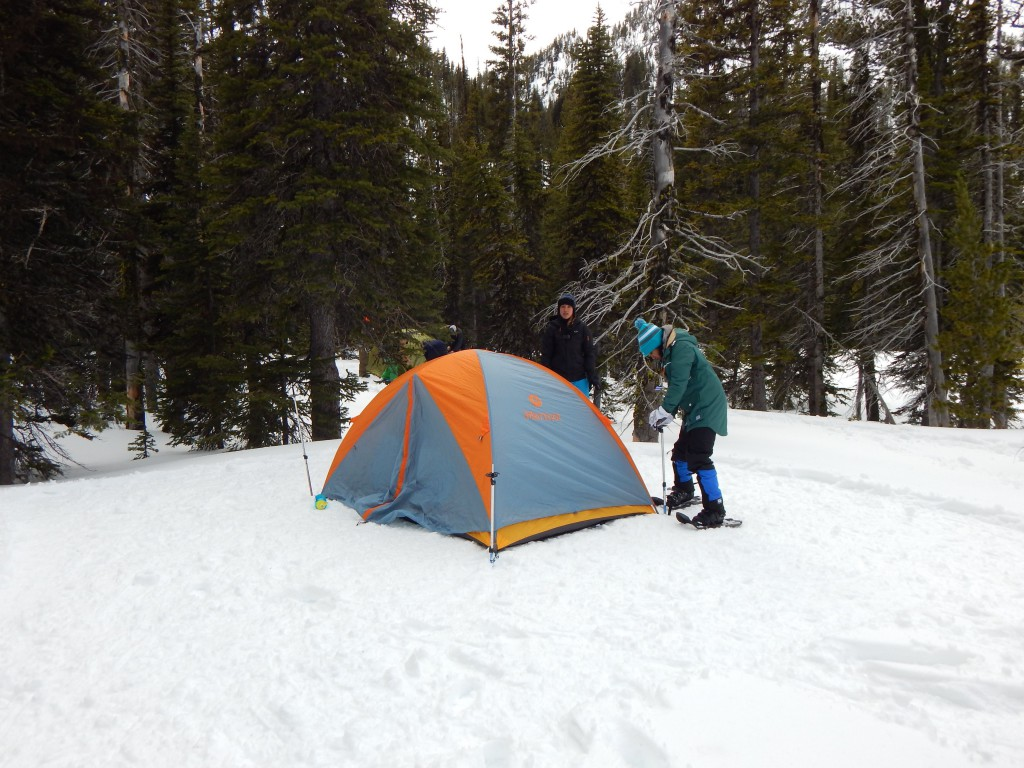 EOU Students Camping