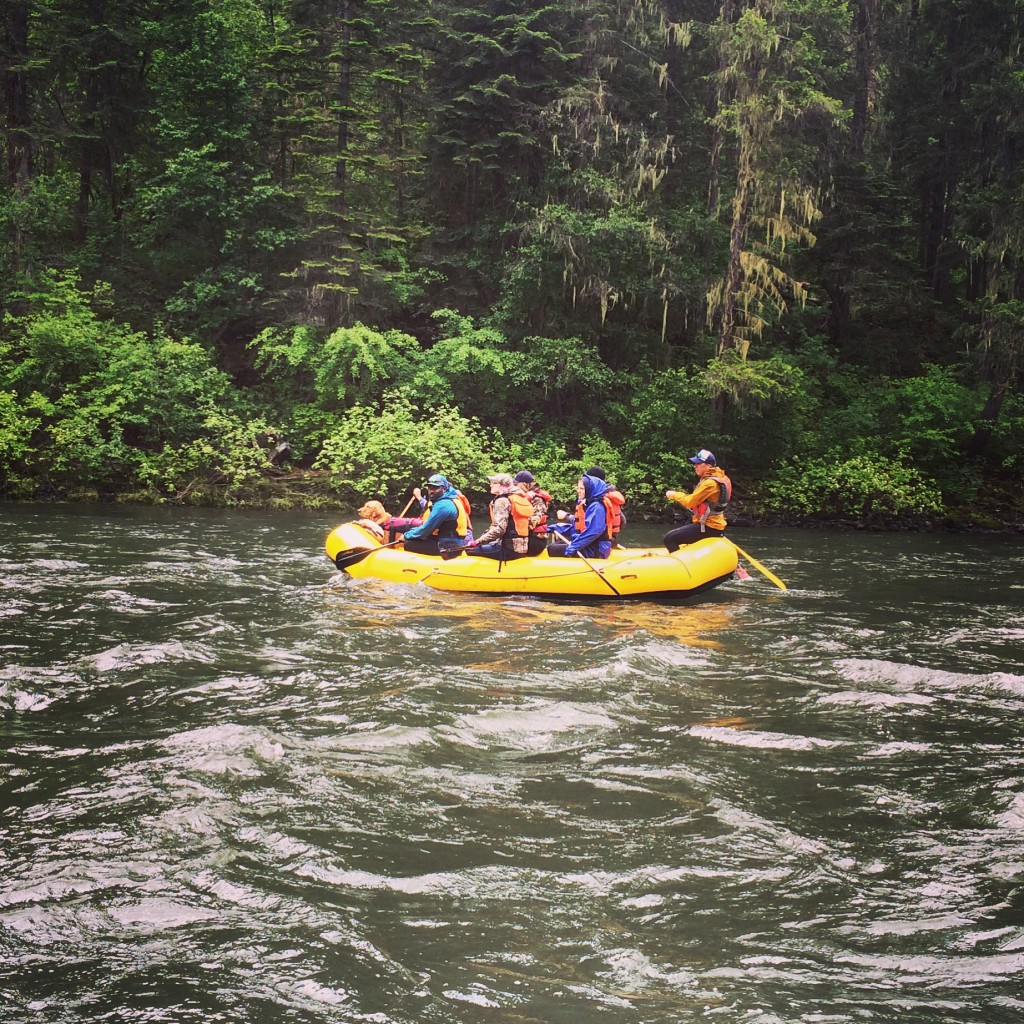 EOU Students Rafting