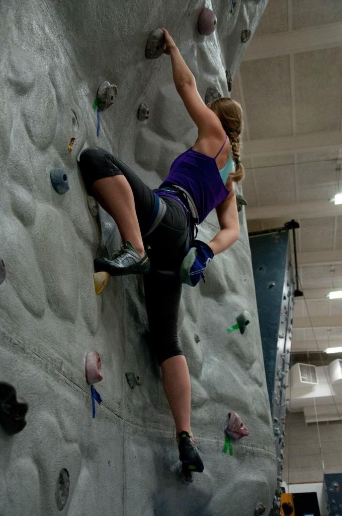 EOU Climbing Wall