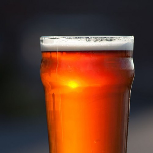 beer glass-public domain
