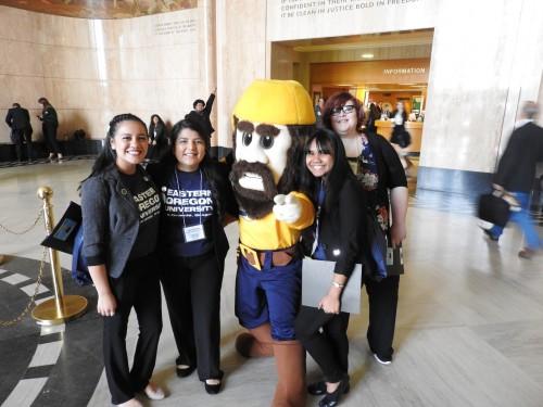 2017 EOU students attending TRU day in Salem