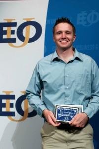 Austin Winegar EOu Male Scholar Athlete Award