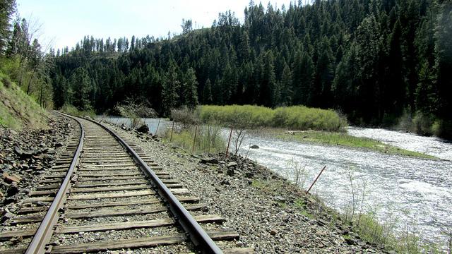 Rails Along the River