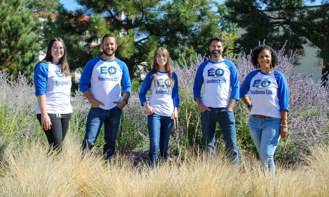 EOU Reslife Staff 2021