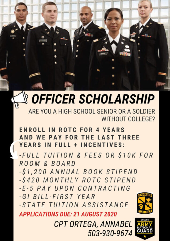 ROTC Officer Scholarship