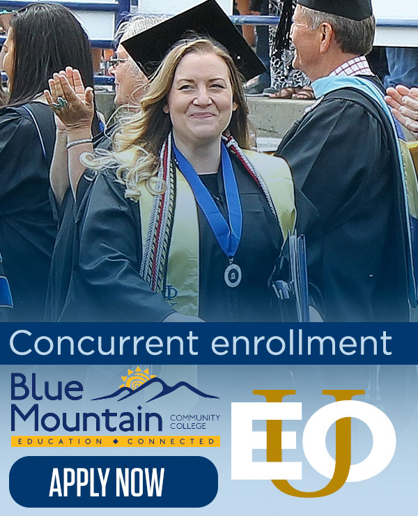 Link to Eastern Oregon University Concurrent Enrollment