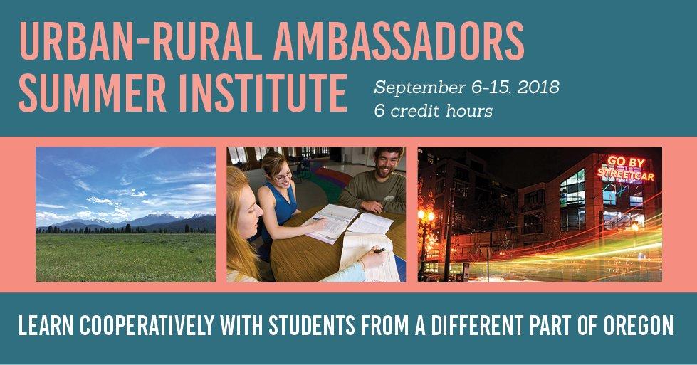Urban-Rural Ambassadors EOU