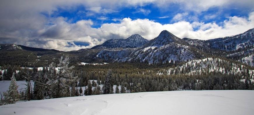 The Elkhorn Mountain Range