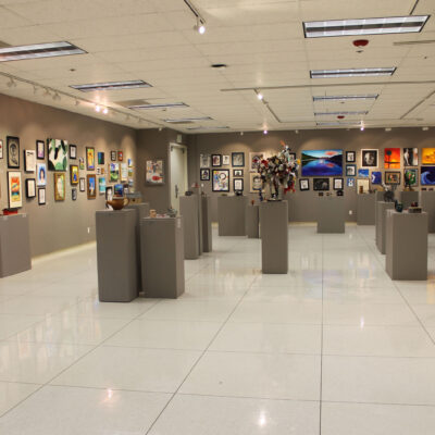 2020 Regional Highschool Art Exhibition at Nightingale Gallery, Loso Hall EOU